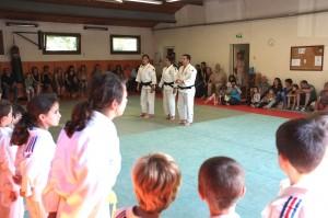 Les judokas et les parents présents au rendez-vous de cette fin de saison.